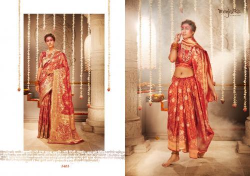 Manjolika Fashion Mira Silk 3403 Price - 1595