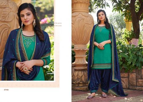 Kessi Fabrics Patiyala House 5742 Price - 899