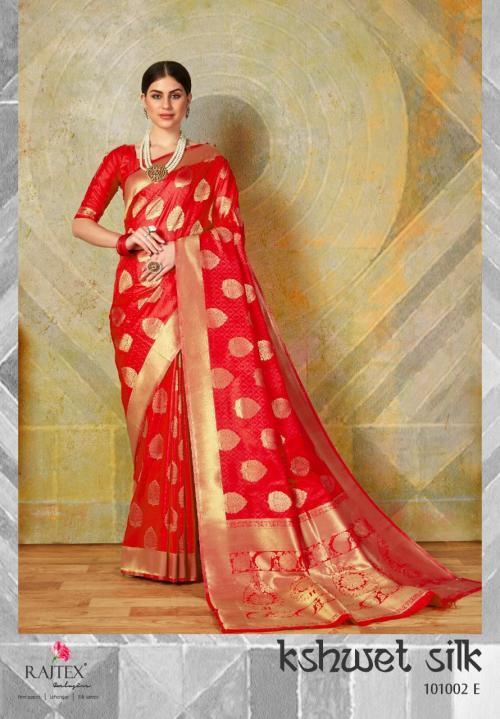 Rajtex Kshwet Silk 101002 E Price - 1460