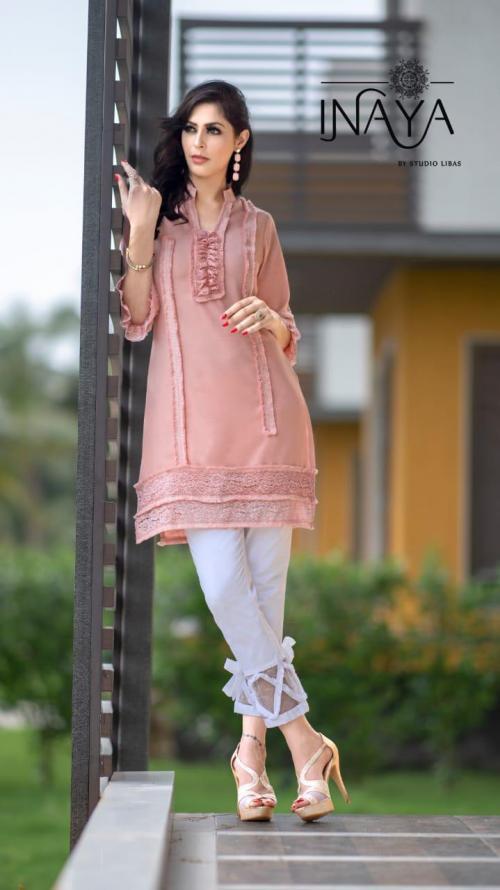 Studio Libas Inaya Luxury Pret Collection 36 Tunic Pant