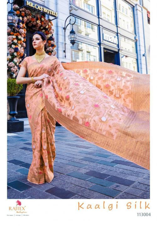 Rajtex Saree Kaalgi Silk 113004 Price - 1560