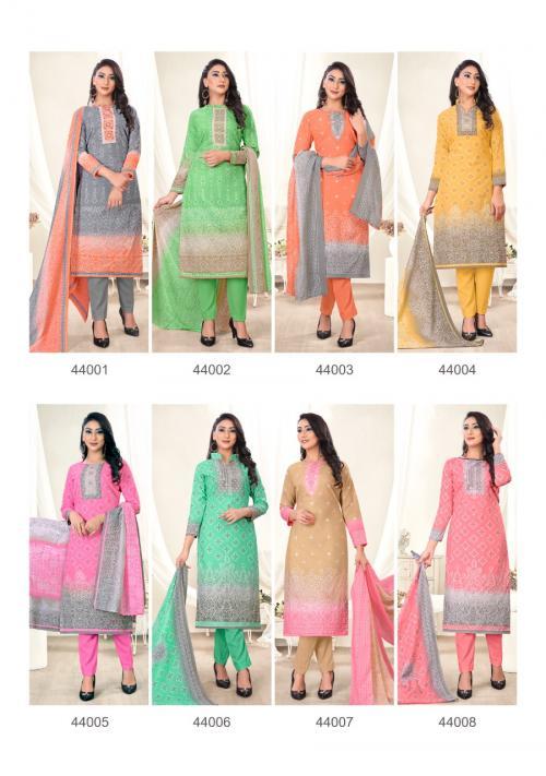SKT Suits Innayat 44001-44008 Price - 3560