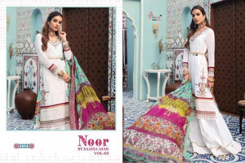 Shree Fab Noor By Saadia Asad 1614 Price - 1249
