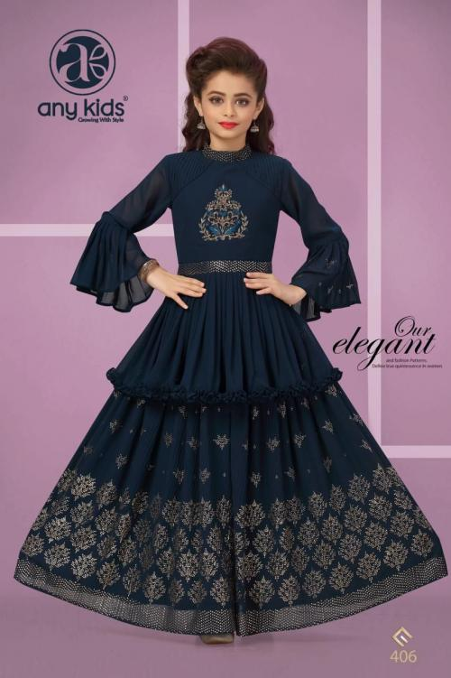Any Kids Designer Gowns 406 Price - 1349