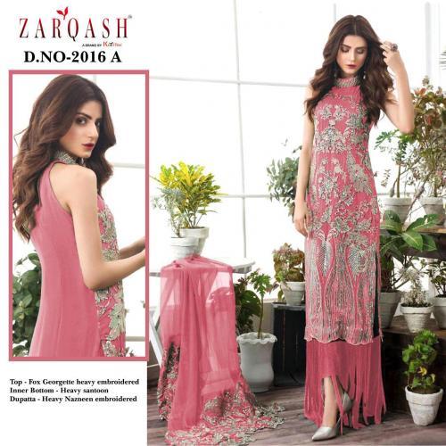 Khayyira Suits Zarqash Faiza 2016-A Price - 1250