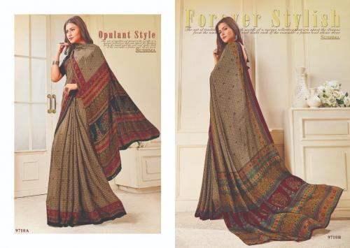 Sushma Saree Ensemble 9710 AB Price - 1500