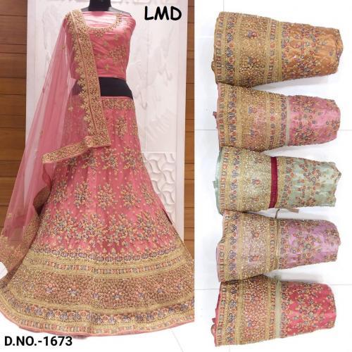 LMD Lehenga 1673 Price - 6200