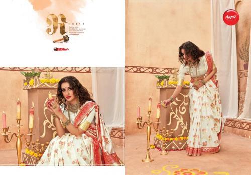 Apple Saree Pooja Exclusive Vol-4 401-410 Series