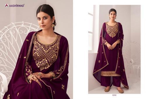 Aashirwad Creation Anita 8392 Price - 1695