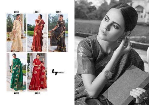 LT Fabrics Saree Aroma 2200-2204