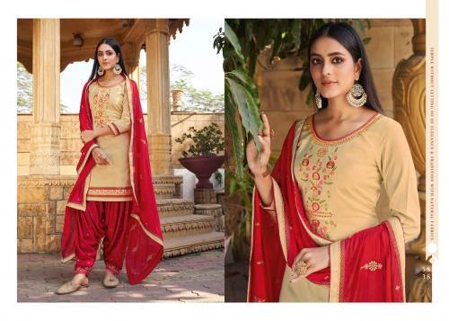Kessi Fabrics Sitara By Patiyala House 5838 Price - 896