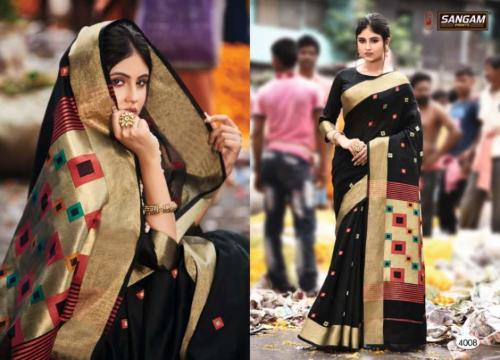 Sangam Prints Aaradhya Handloom 4008 Price - 1125