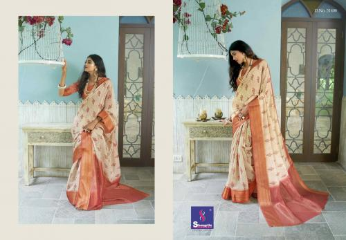 Shangrila Saree Trisha Digtal Linen 51408 Price - 1215
