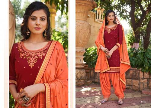 Kessi Fabrics Patiyala House 5746 Price - 899