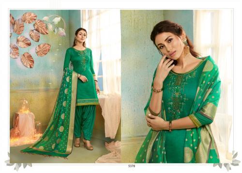 Kessi Fabrics Silk Patiyala 5378 Price - 999
