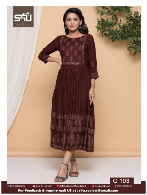 S4U Shivali Gold 103 Price - 629