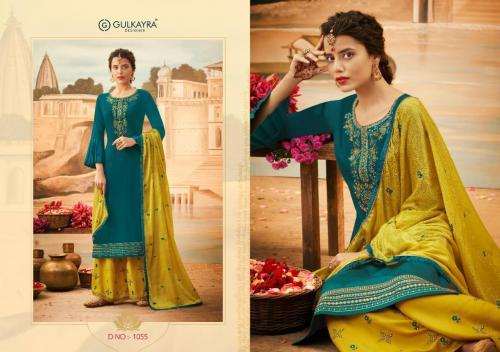 Aashirwad Creation Gulkayra Designer Lotus 1055 Price - 1275