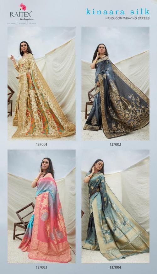 Rajtex Saree Kinaara Silk 137001-137004 Price - 6240