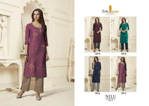 Neha Fashion Nilu With Pant 1017 Price - 949