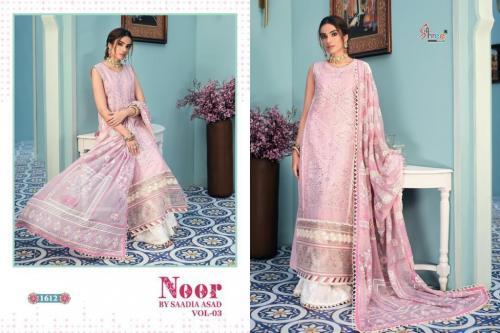 Shree Fab Noor By Saadia Asad 1612 Price - 1249