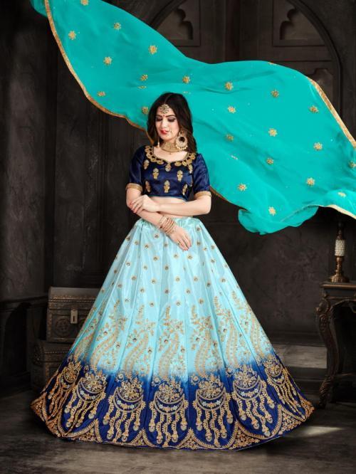 Natraj Lehenga Aashana 28004 Price - 1400