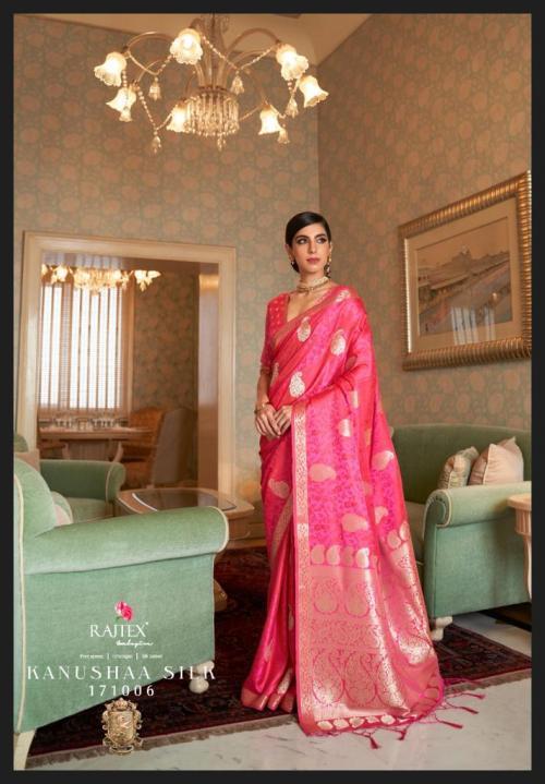 Rajtex Saree Kanushaa Silk 171006 Price - 1560