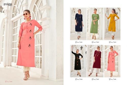 Syasii Designers Ancy 1001-1006 Price - 3450