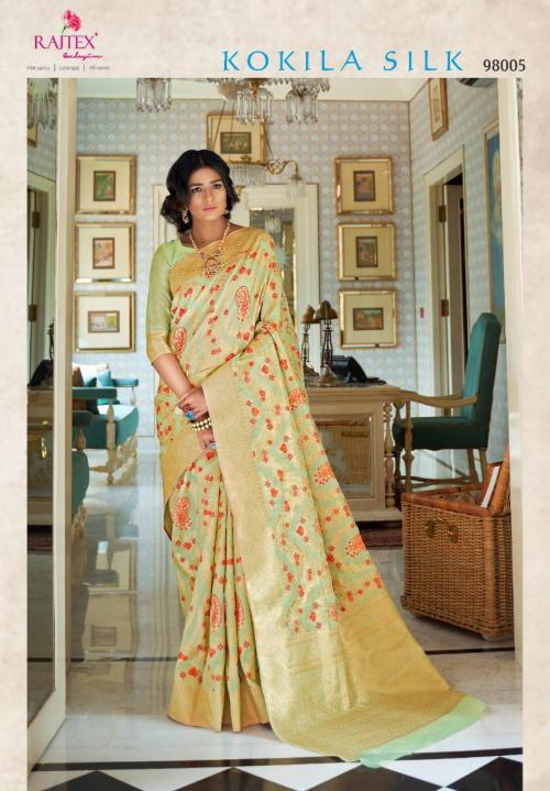 Rajtex Saree Kokila Silk 98005 Price - 1360