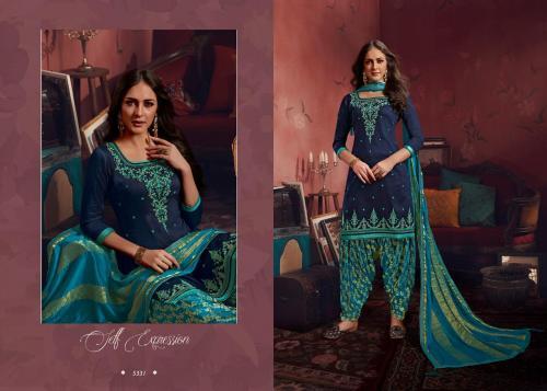 Kessi Fabrics Shangar By Patiala House Vol-15 5331-5338 Series