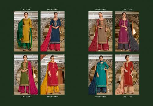 Kessi Fabric Safari 5861-5868 Price - 7592