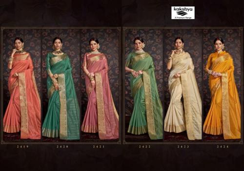 Kakshya Saree Riya 2419-2424 Price - 6744