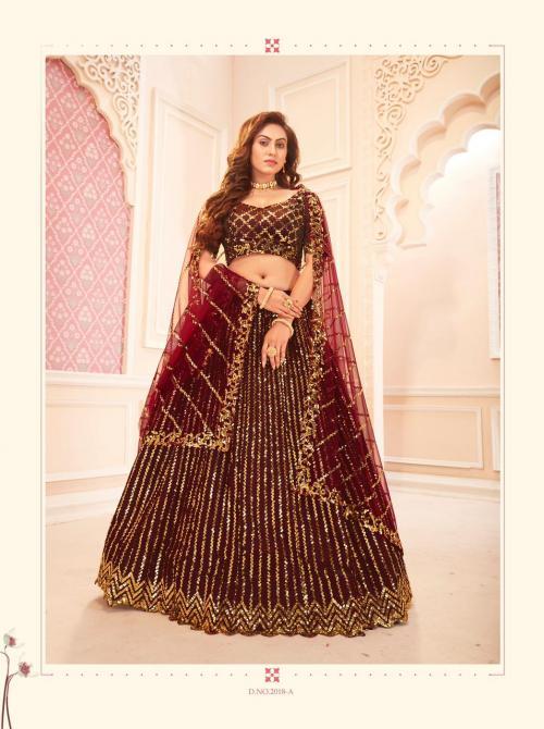 Senhora Dresses Sakhi Bridal Heritage 2018-A Price - 2895