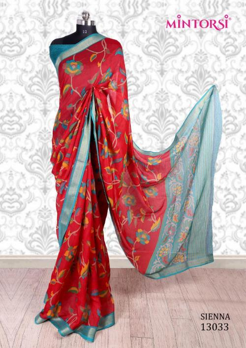 Mintorsi Saree Sienna 13033 Price - 670
