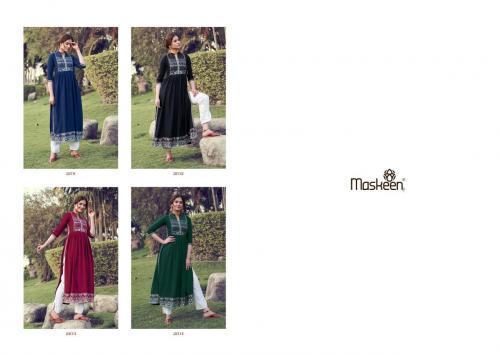Maisha Maskeen Monsoon 2101-2104 Price - 5300