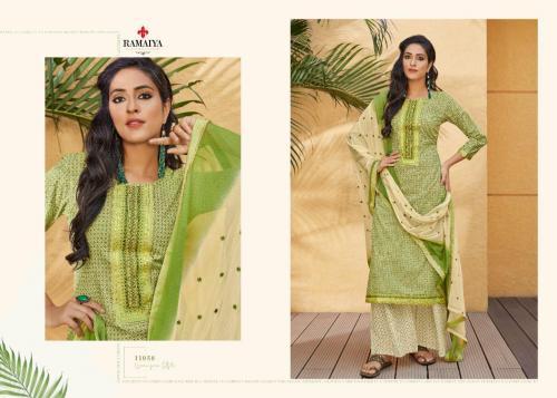 Kessi Fabrics Ramaiya Rose Gold 11058 Price - 699
