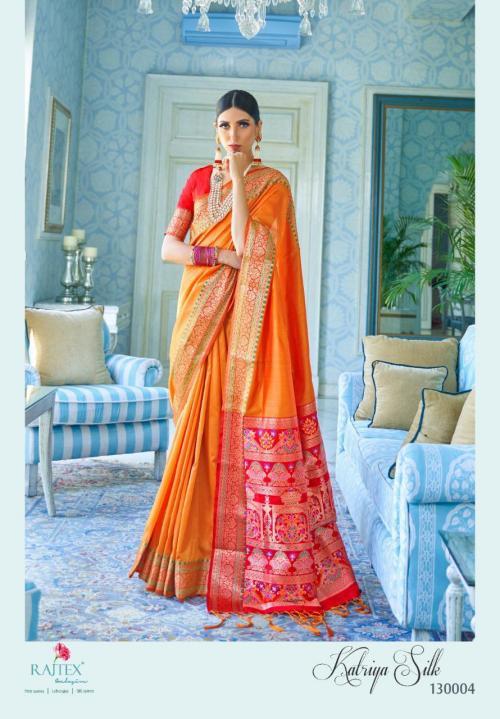 Rajtex Saree Katriya Silk 130004  Price - 1360