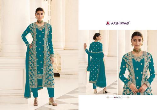 Aashirwad Creation Jacket 8413-C Price - 2495
