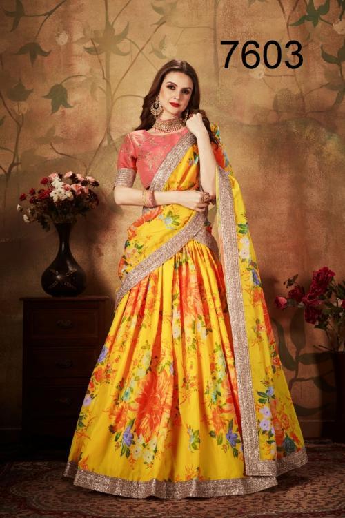 ZC Floral 7603 Price - 2550