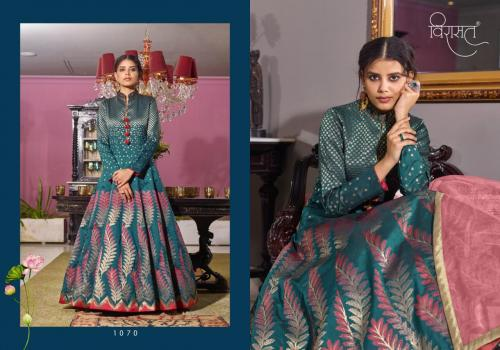 Virasat Gowns Muskan 1070 Price - 3675