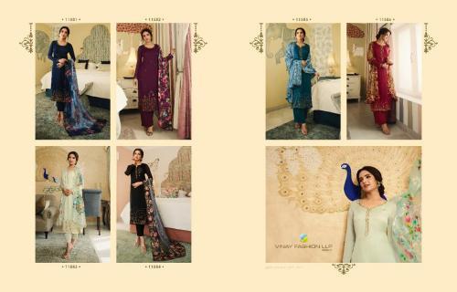 Vinay Fashion Kaseesh Shining Star 11581-11586 Price - Inquiry On Watsapp Number For Price