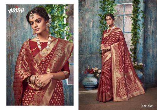 Asisa Saree Silkina wholesale saree catalog