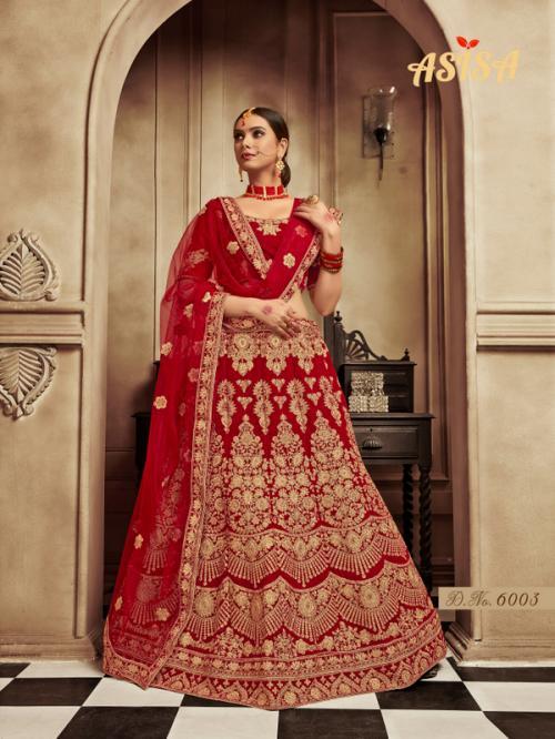 Asisa Bridal Lehenga 6003 Price - 3764