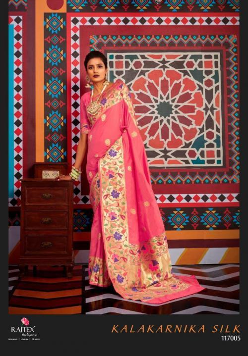 Rajtex Saree Kalakarnika Silk 117005 Price - 2295