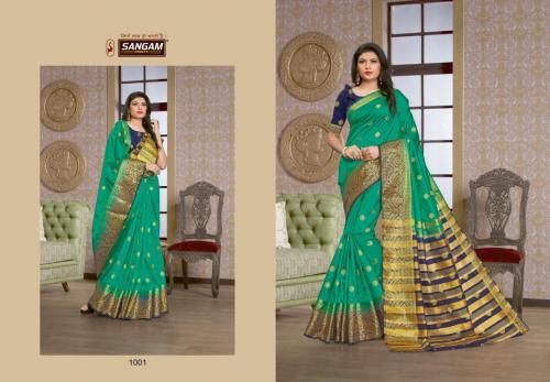 Sangam Prints Saanvi Silk 1001-1006 Series