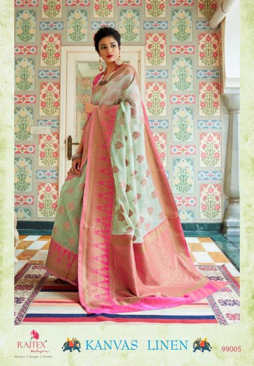 Rajtex Saree Kanvas Linen 99005