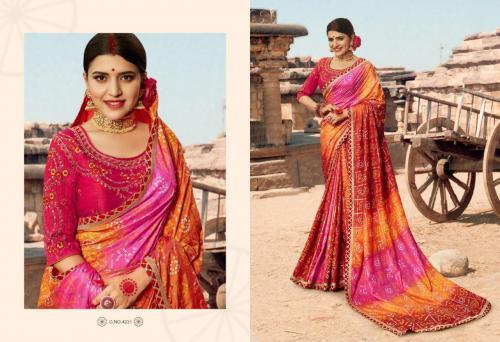 Kessi Fabrics Bandhej Vol-12 4231-4240 Series