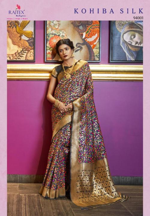 Rajtex Kohiba Silk 94001 Price - 2200