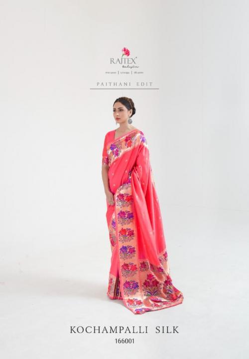 Raj Tex Saree Kochampalli Silk 166001 Price - 1775