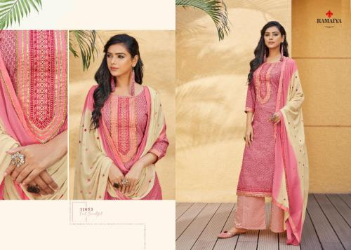 Kessi Fabrics Ramaiya Rose Gold 11053 Price - 699