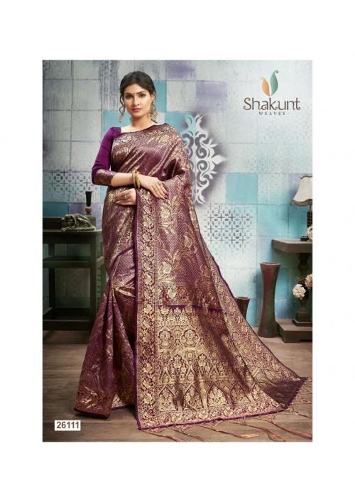 Shakunt Saree Shika Art Silk 26111-26116 Series